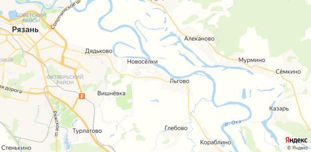 Рубцово на карте