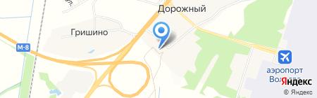 Фельдшерско-акушерский пункт на карте Гришино