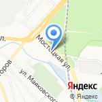 Анита на карте Ярославля