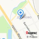Детский сад №24 на карте Ярославля