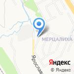 La Fleur на карте Ярославля