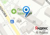 Городской информационно-вычислительный центр, МУП на карте