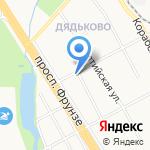 Сбербанк на карте Ярославля