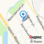 Мастерская по ремонту обуви на карте Ярославля