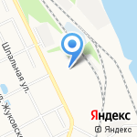 ЯрГазТранзит на карте Ярославля