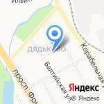 Библиотека им. Ф.М. Достоевского на карте Ярославля