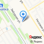 Ветеринарная клиника доктора Маркова на карте Ярославля
