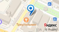 Компания Гламур на карте
