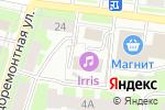 Схема проезда до компании ПромТехРесурс в Вологде
