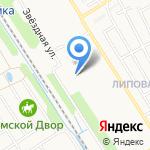 Звездочка на карте Ярославля