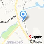Лимузин Престиж на карте Ярославля