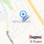 Дельта-тревл на карте Ярославля