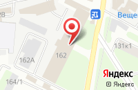 Схема проезда до компании Саюр в Вологде