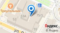Компания Экспресс отчет на карте