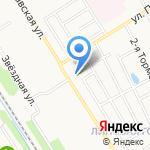 Елена на карте Ярославля