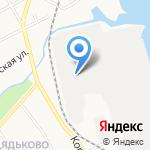 Ярославский судостроительный завод на карте Ярославля