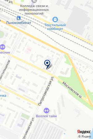 Вологодская торговая компания на карте Вологды