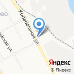 Сеть продуктовых магазинов на карте Ярославля