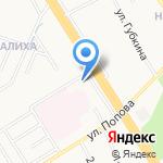 Руно на карте Ярославля