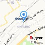 Заволжье на карте Ярославля