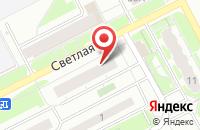 Схема проезда до компании Оранжевый кот в Ярославле