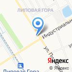 Ромашка на карте Ярославля