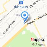 Филин на карте Ярославля