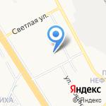 Средняя общеобразовательная школа №89 на карте Ярославля