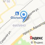 Заволжское на карте Ярославля