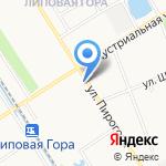 Рыжий пес на карте Ярославля