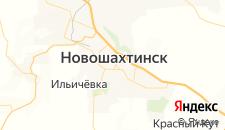 Гостиницы города Новошахтинск на карте