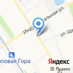 Карамель на карте Ярославля