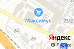 Схема проезда до компании Продовольственный магазин на Авиационной в Сочи