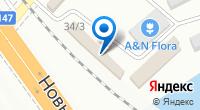 Компания Максим на карте