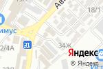 Схема проезда до компании Магазин автозапчастей в Сочи