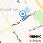 Хозяюшка на карте Ярославля