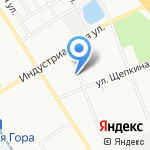 Скрепка на карте Ярославля