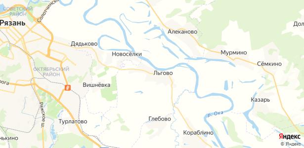 Льгово на карте
