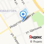 Мировые судьи Фрунзенского района на карте Ярославля