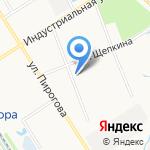 Акватерм на карте Ярославля