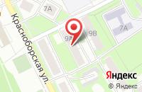 Схема проезда до компании Судебный участок №3 Ярославского судебного района в Ярославле