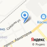 Ясень на карте Ярославля