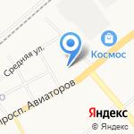 Отдел полиции Заволжского района на карте Ярославля