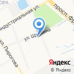 Привал странника на карте Ярославля