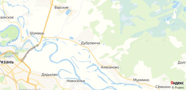 Дубровичи на карте