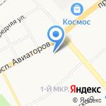 Южный двор на карте Ярославля