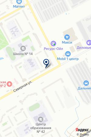 Автоколор на карте Вологды
