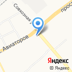Макдоналдс на карте Ярославля