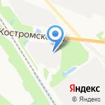 Сиян на карте Ярославля