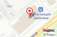 Схема проезда до компании Компания по ремонту мобильных телефонов в Ярославле